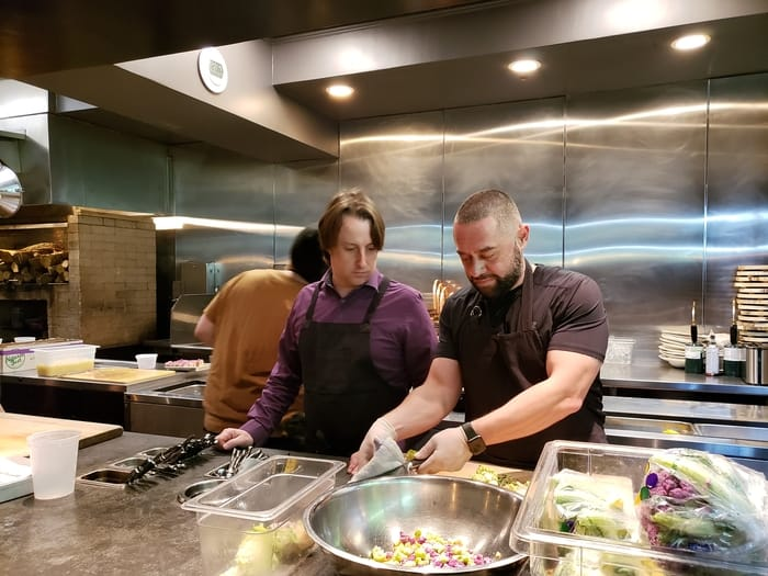 Chef Gavin Humes - Hands-on education