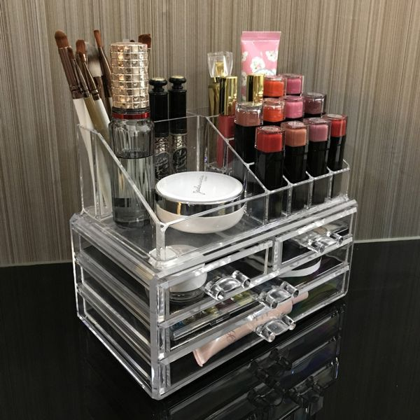 Ikee Design Cosmetic Storage Display Boxes