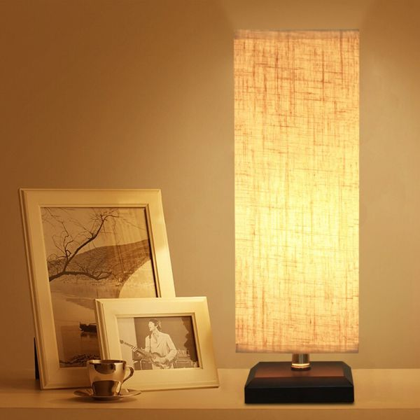 ZEEFO Bedside Table Lamp