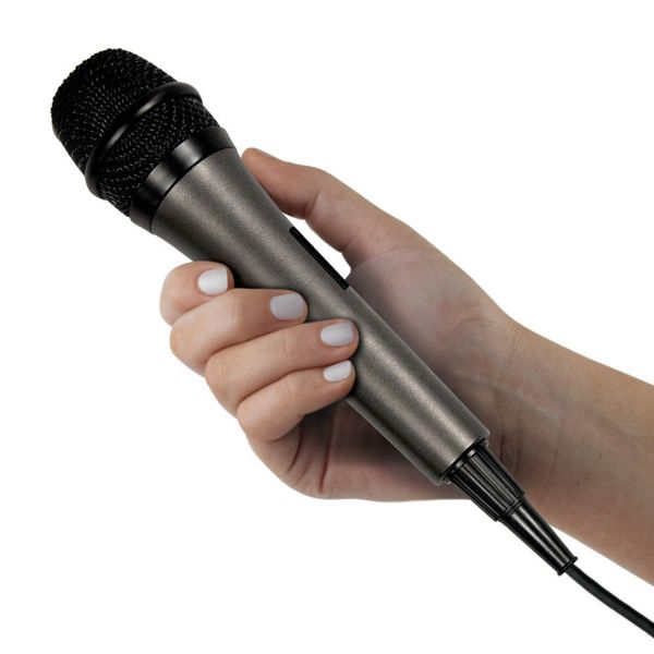 Singing Machine Unidirectional Dynamic Microphone